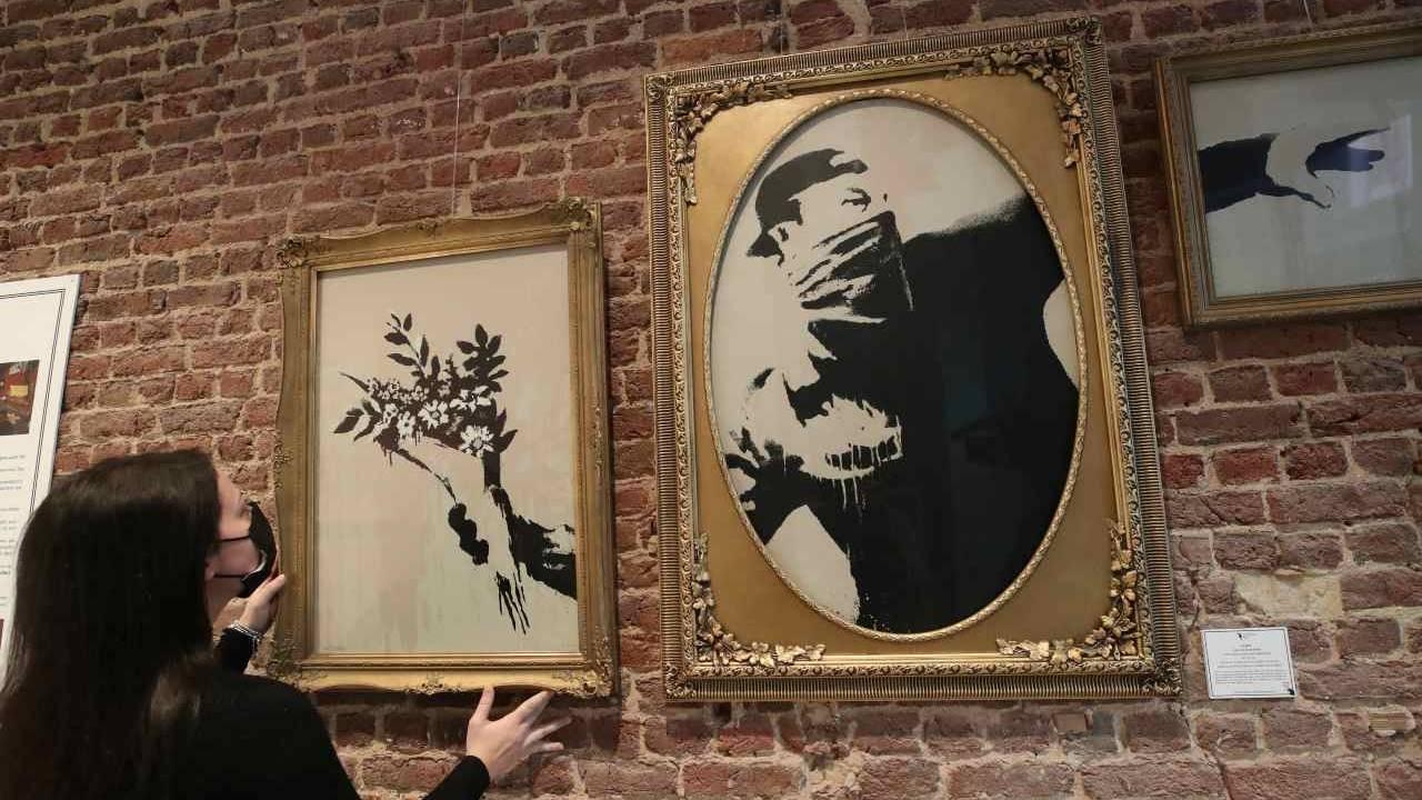 Inauguran exposición sobre 15 años de obras de Banksy