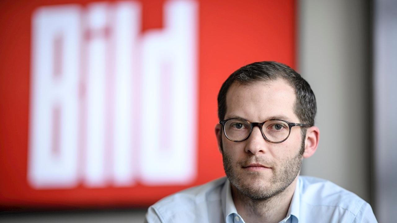 Director del diario 'Bild', suspendido por presunto trato indebido a mujeres