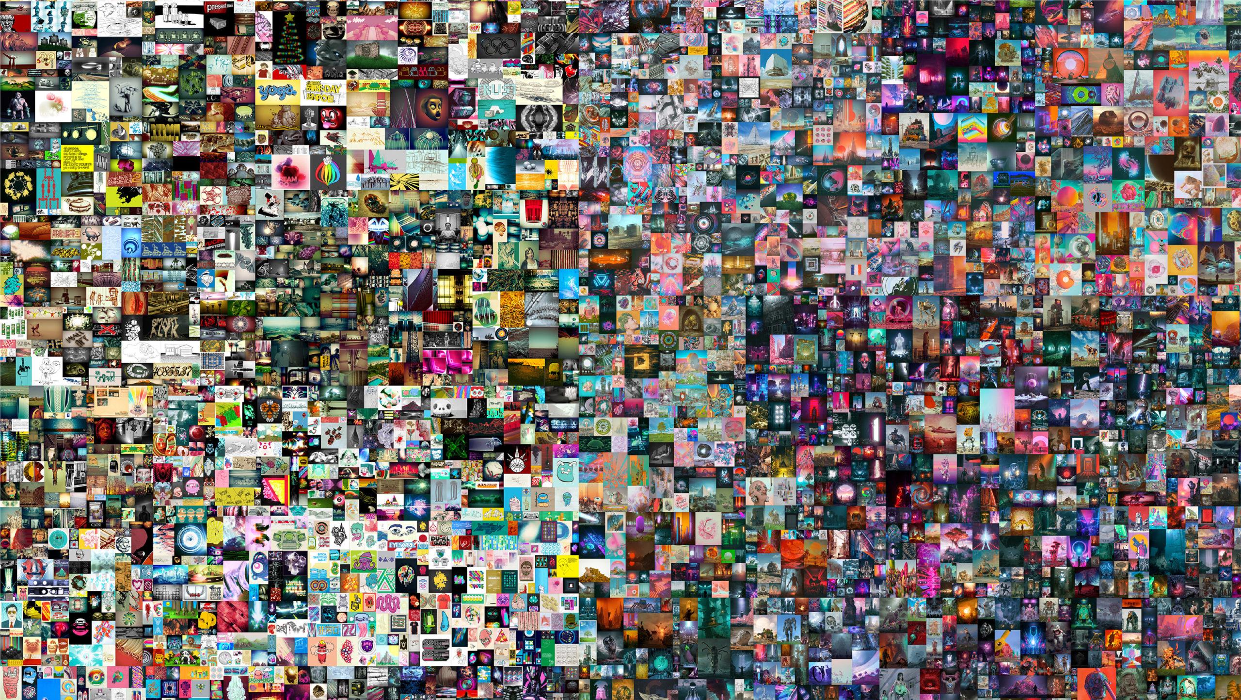 Criptoarte, al alza; Christie's vende obra digital NFT en 70 mdd