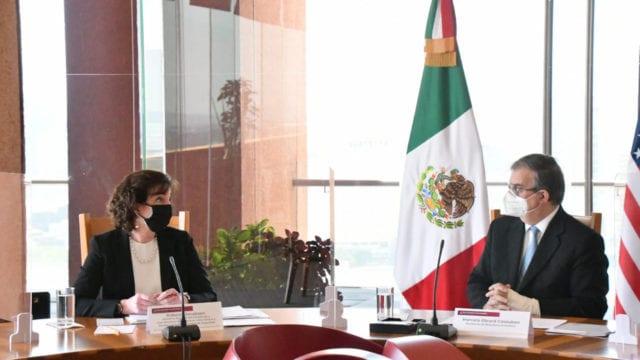 Gobierno discute con EU migración ordenada, segura y regular
