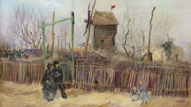 'Escena callejera en Montmartre' de Van Gogh es subastada por 13.1 millones de euros