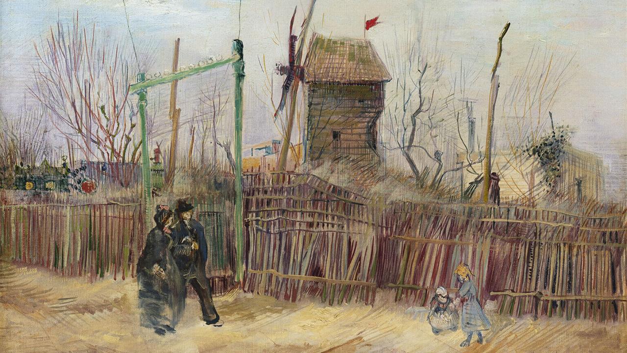 Subastan 'Escena callejera en Montmartre' de Van Gogh por 13.1 mde