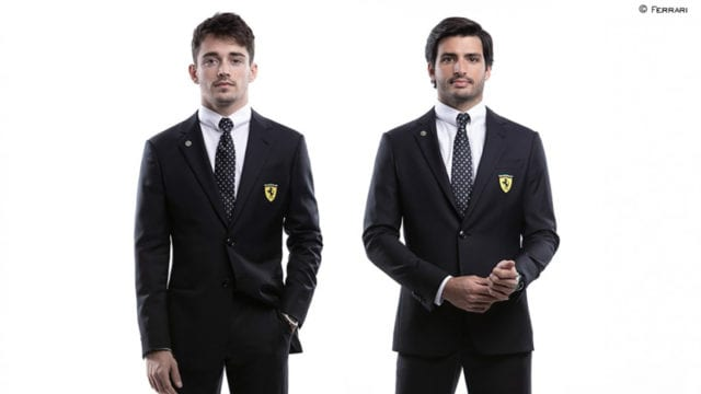 Armani anuncia que vestirá al equipo Ferrari de F1
