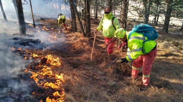 Incendio en Nuevo león y Coahuila