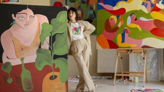 Mango Día de la mujer ilustradora mexicana Ana Leovy