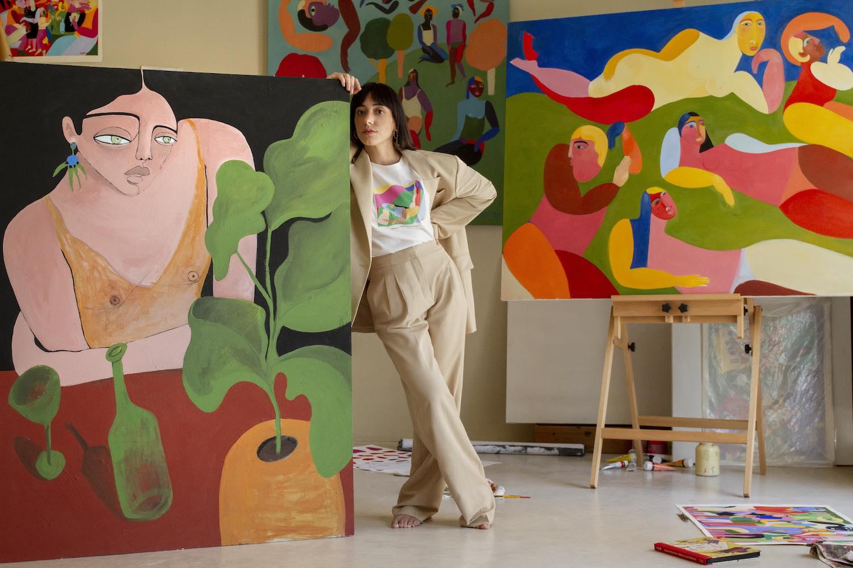 Mango celebra papel de la mujer con colección creada por ilustradora mexicana