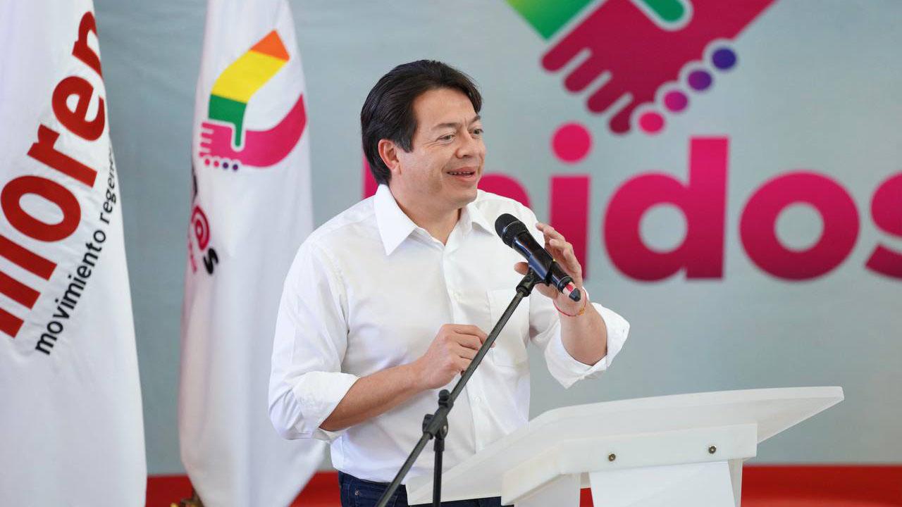 Delgado dice que Morena derrotará al INE en el Tribunal Electoral