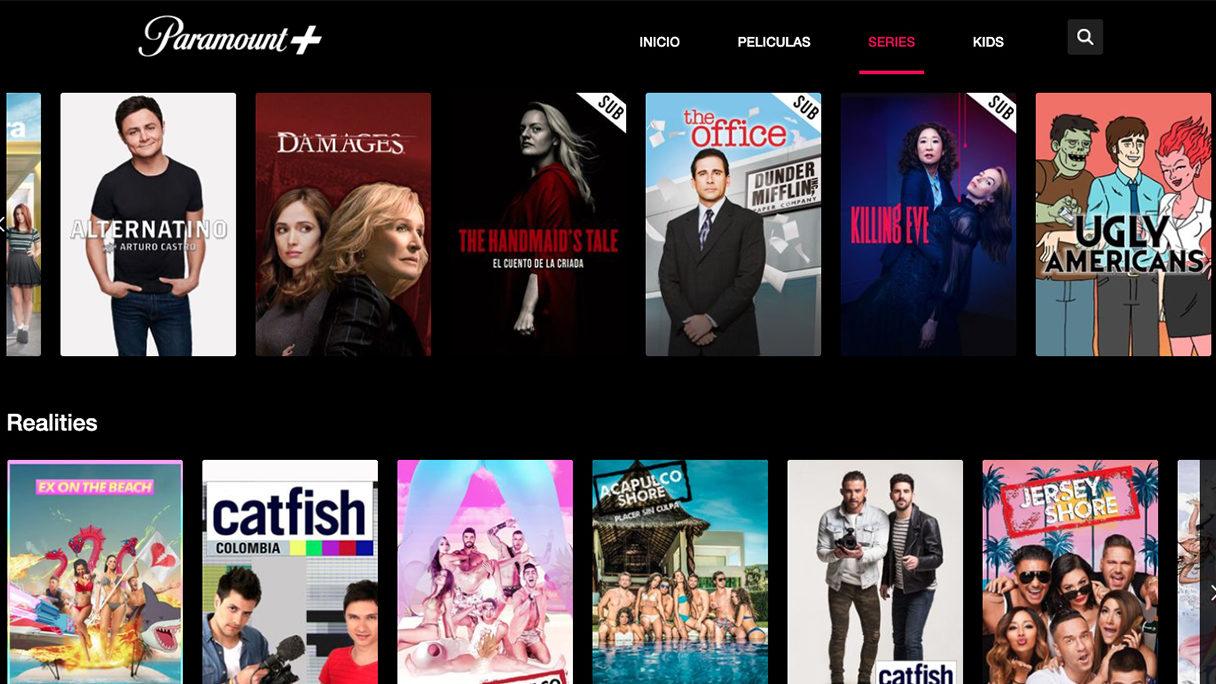 Paramount+ llega a la batalla del streaming con una suscripción de 79 pesos