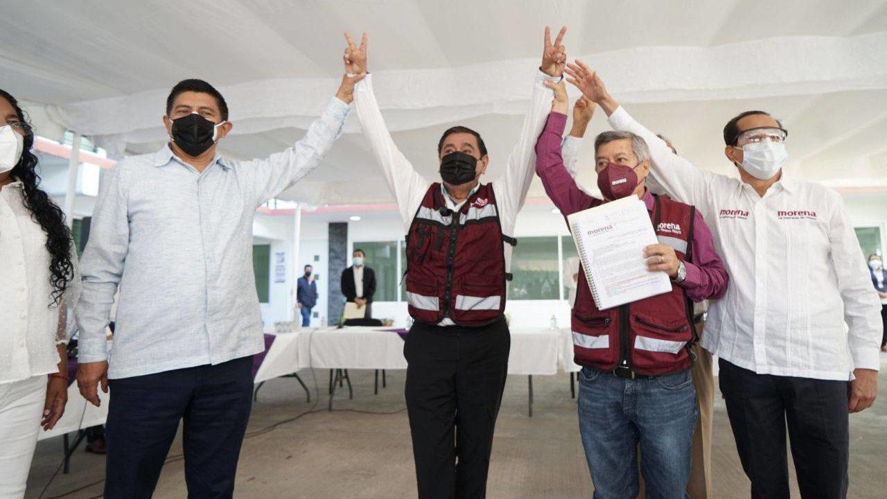 Salgado Macedonio no inicia campaña; esperará encuesta de Morena