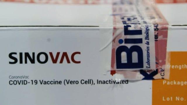 Vacunas chinas Sinovac serán repartidas en los 32 estados