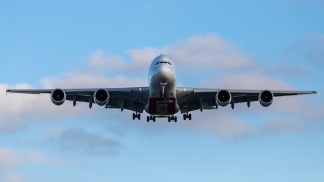 tecnología avión