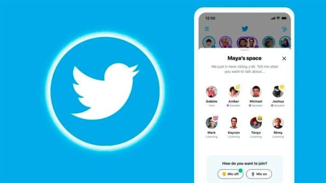 Twitter lanzará Spaces