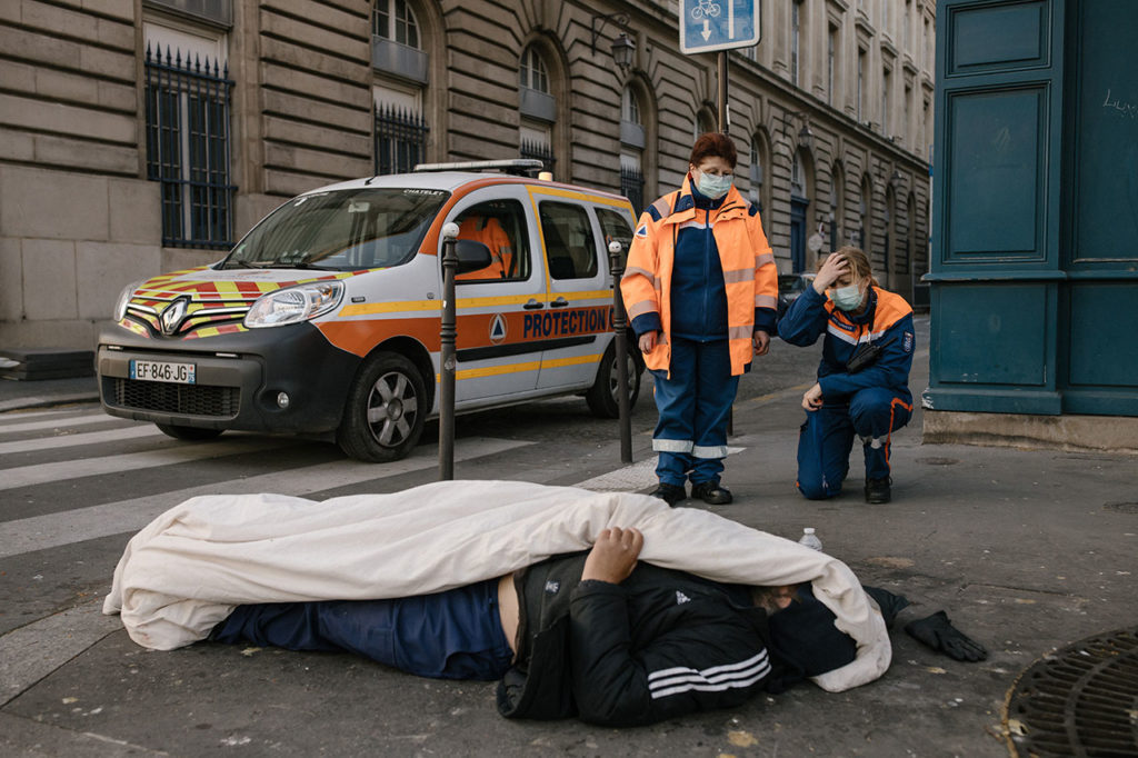 World Press Photo Maraude protection civile Paris