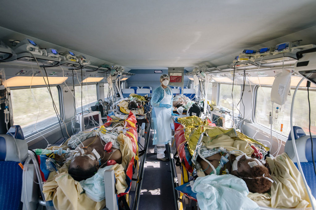 World Press Photo Le train de l'espoir