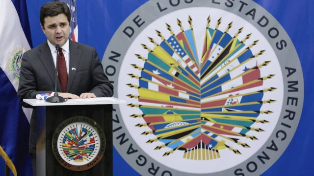 Ricardo Zúñiga enviado especial de EU para el Triángulo Norte de Centroamérica