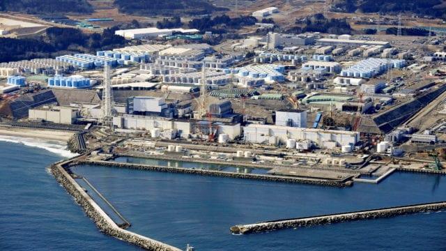 Fukushima agua contaminada