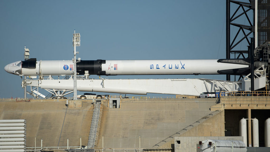 SpaceX Demo-2 Rollout