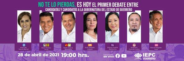 Morena se hace presente en debate para el gobierno de Guerrero