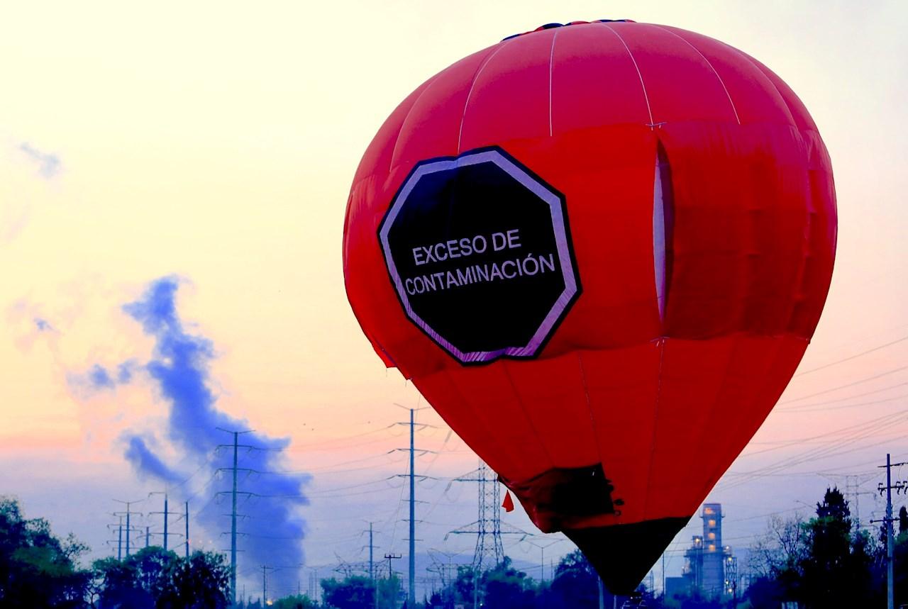 Greenpeace culpa al gobierno de AMLO por 'exceso de contaminación'