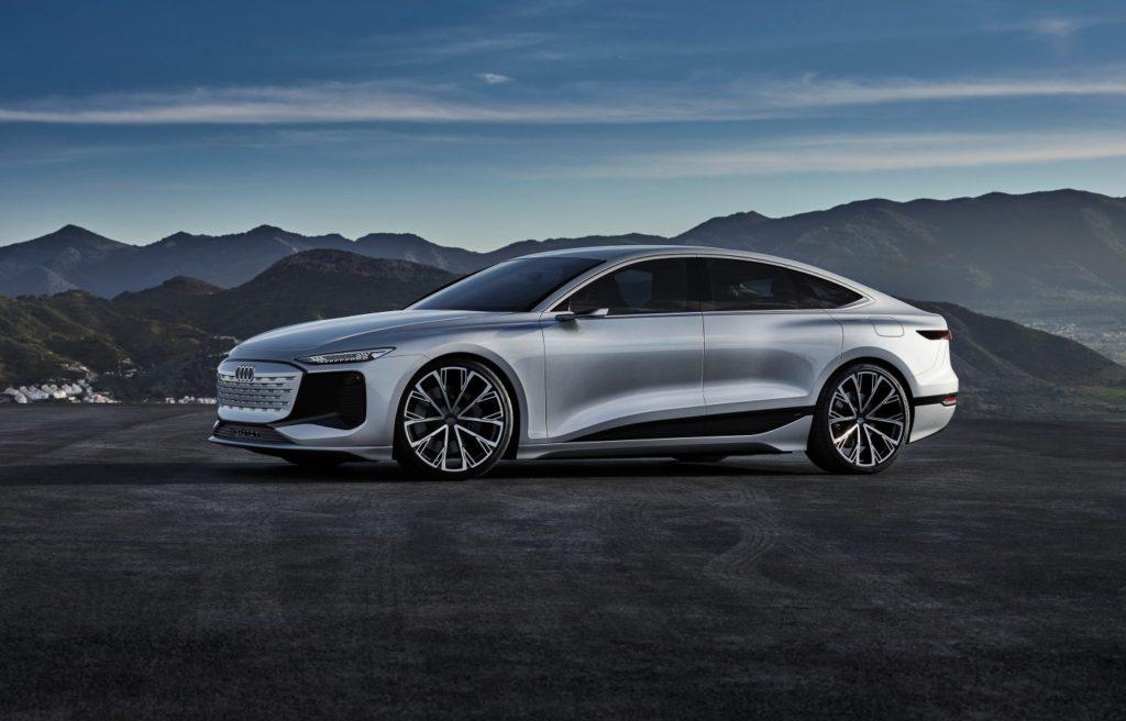 Audi A6 color plata