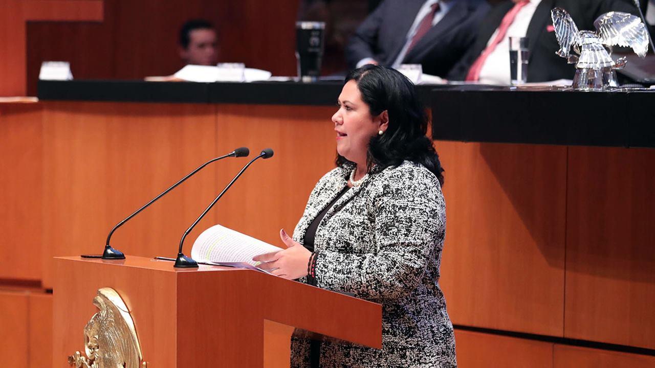 Senadora renuncia a Morena tras perder candidatura por Mexicali