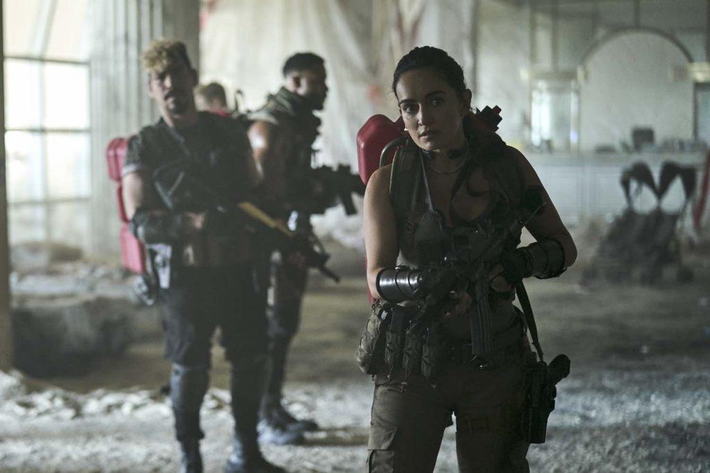 El ejército de los muertos Zack Snyder Netflix.