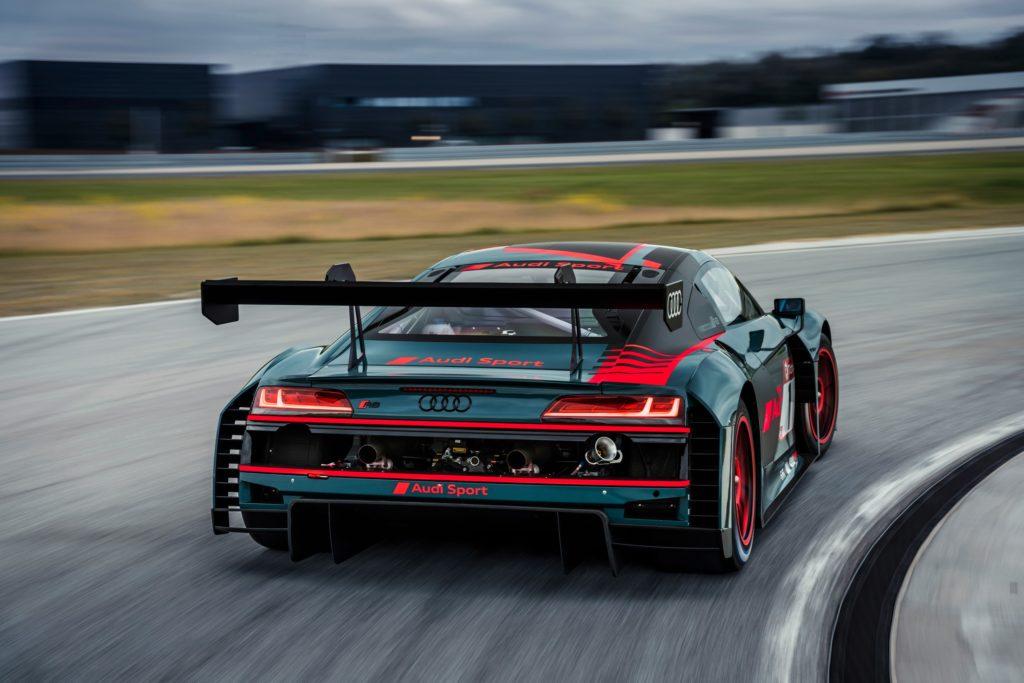 Audi auto deportivo