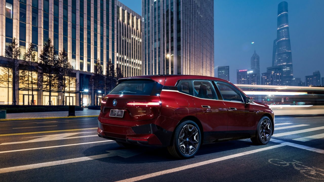 BMW auto eléctrico