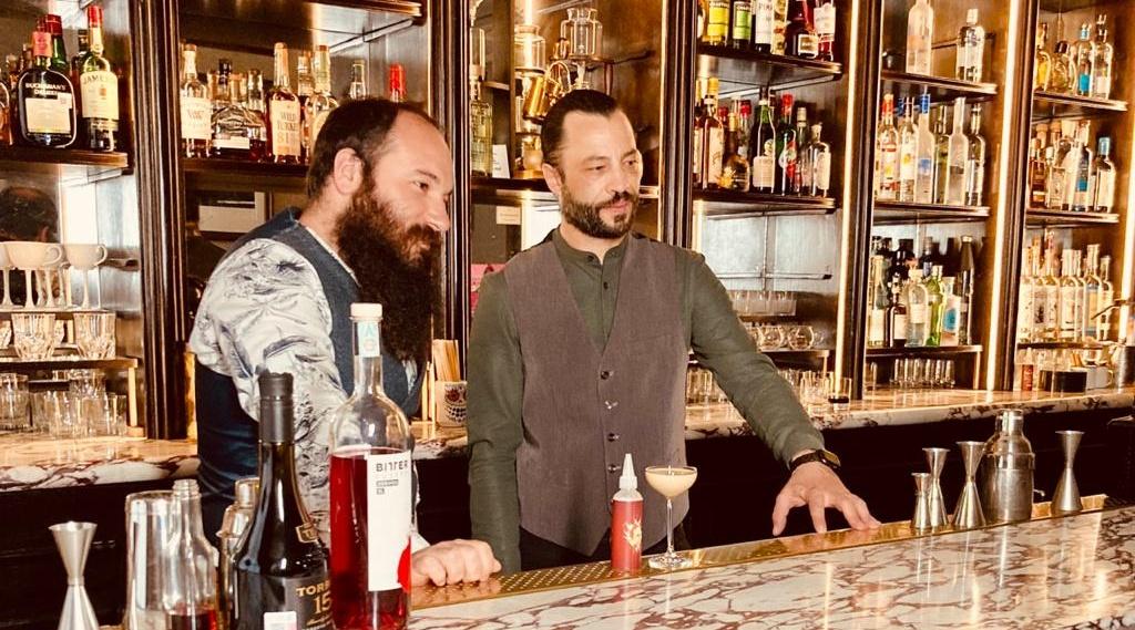 Benjamin Cavagna en México empodera la historia del mejor bar de Italia