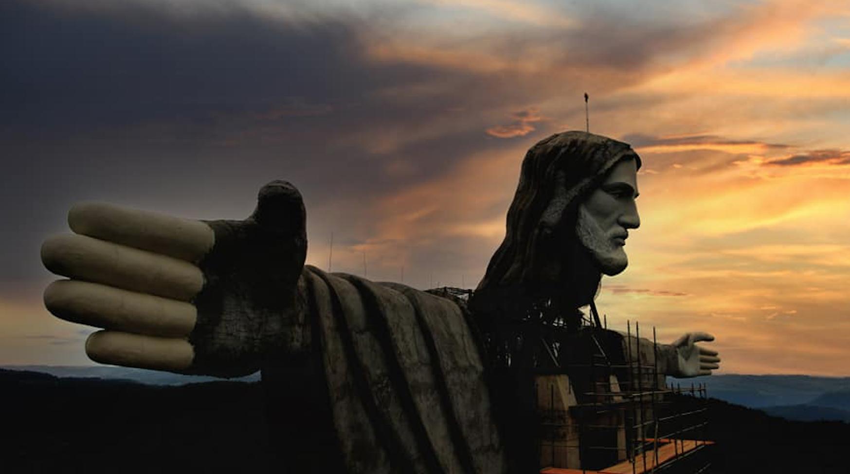 Brasil construye estatua del Cristo Protector, más alta y polémica que la de Río