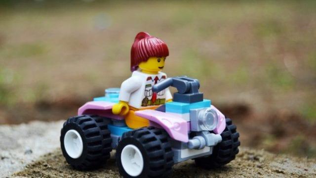 Vehículo niños cuatrimoto