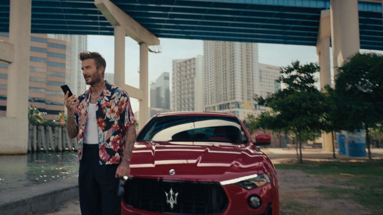 David Beckham es el nuevo embajador de esta prestigiosa firma italiana