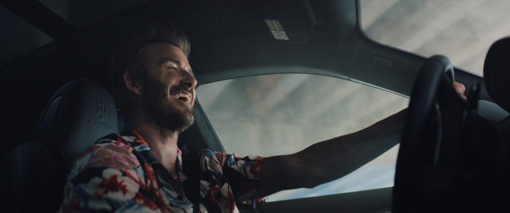 David Beckham Maserati