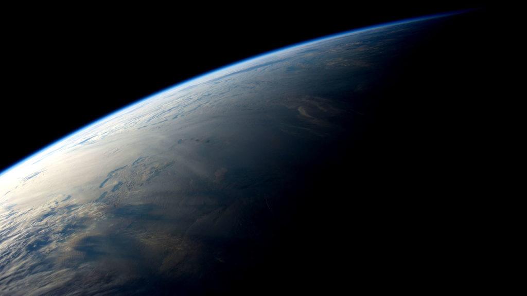 Dia mundial de la Tierra vista desde la estacion espacial 10