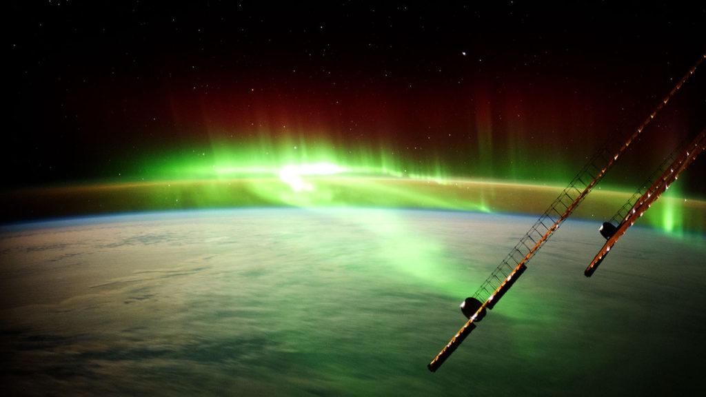 Dia mundial de la Tierra vista desde la estacion espacial 2