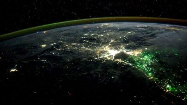 Dia mundial de la Tierra vista desde la estacion espacial 4