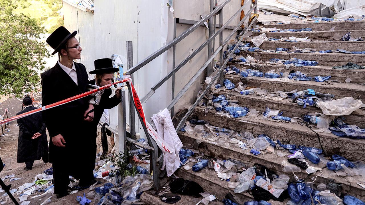 Estampida judios ultraortodoxos 2