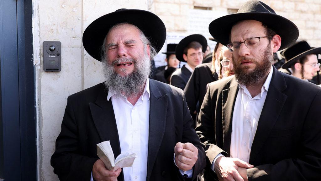 Estampida judios ultraortodoxos 6