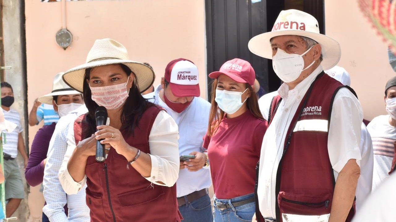 Beatriz Mojica pide a Morena incluirla en encuesta para sustituir a Salgado