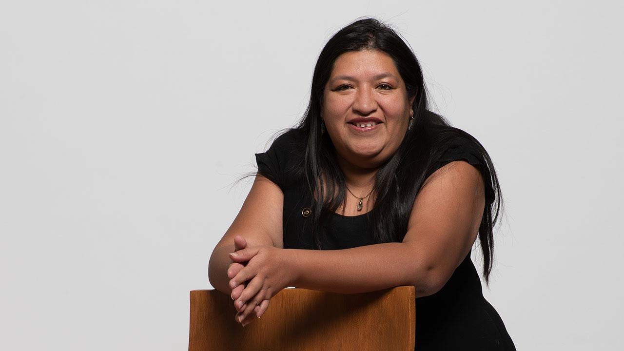 María Salguero: 'No me gustaría que ninguna niña tuviera que mapear feminicidios'