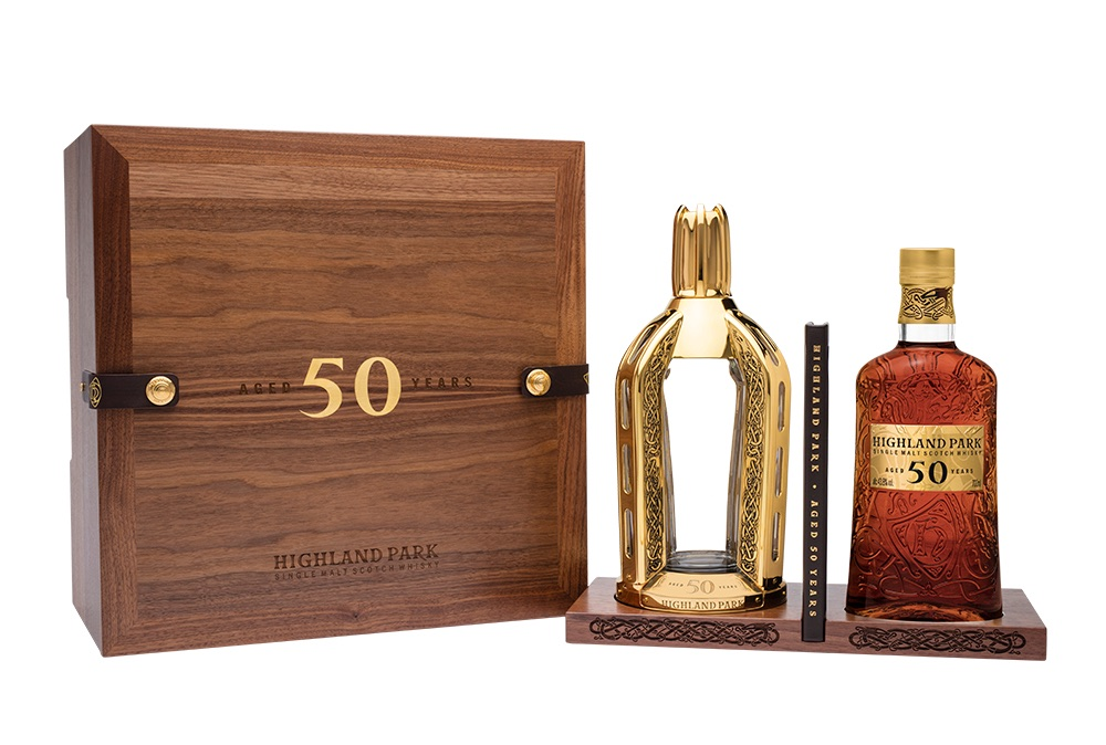 Highland Park 50 años, el whisky edición limitada de más de medio millón de pesos