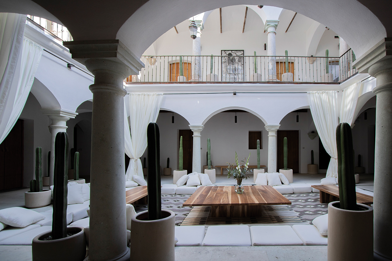 El hotel 'Sin Nombre' une el arte y la tradición en el corazón de Oaxaca