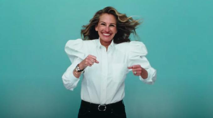 Julia Roberts brilla en diamantes en la nueva campaña de Chopard