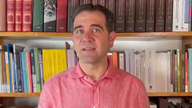 Lorenzo Córdova, consejero presidente del INE. Foto: INE