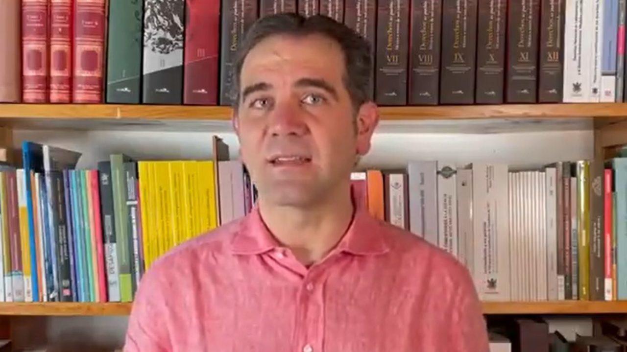 INE aplicará ley, pese a estridencia del debate público: Córdova