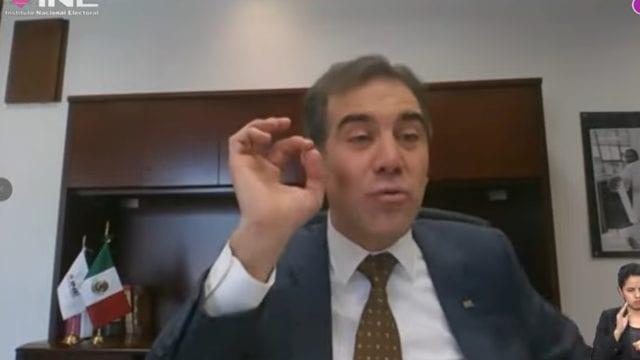 Lorenzo Córdova, consejero presidente del INE. Foto: INE.