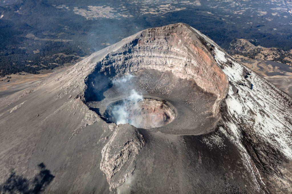 Fotografía de Volcán