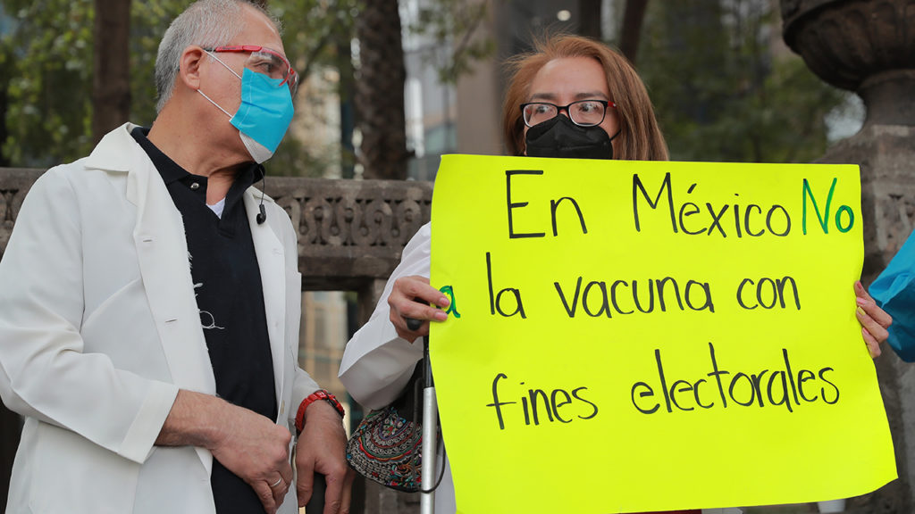 Médicos privados protesta