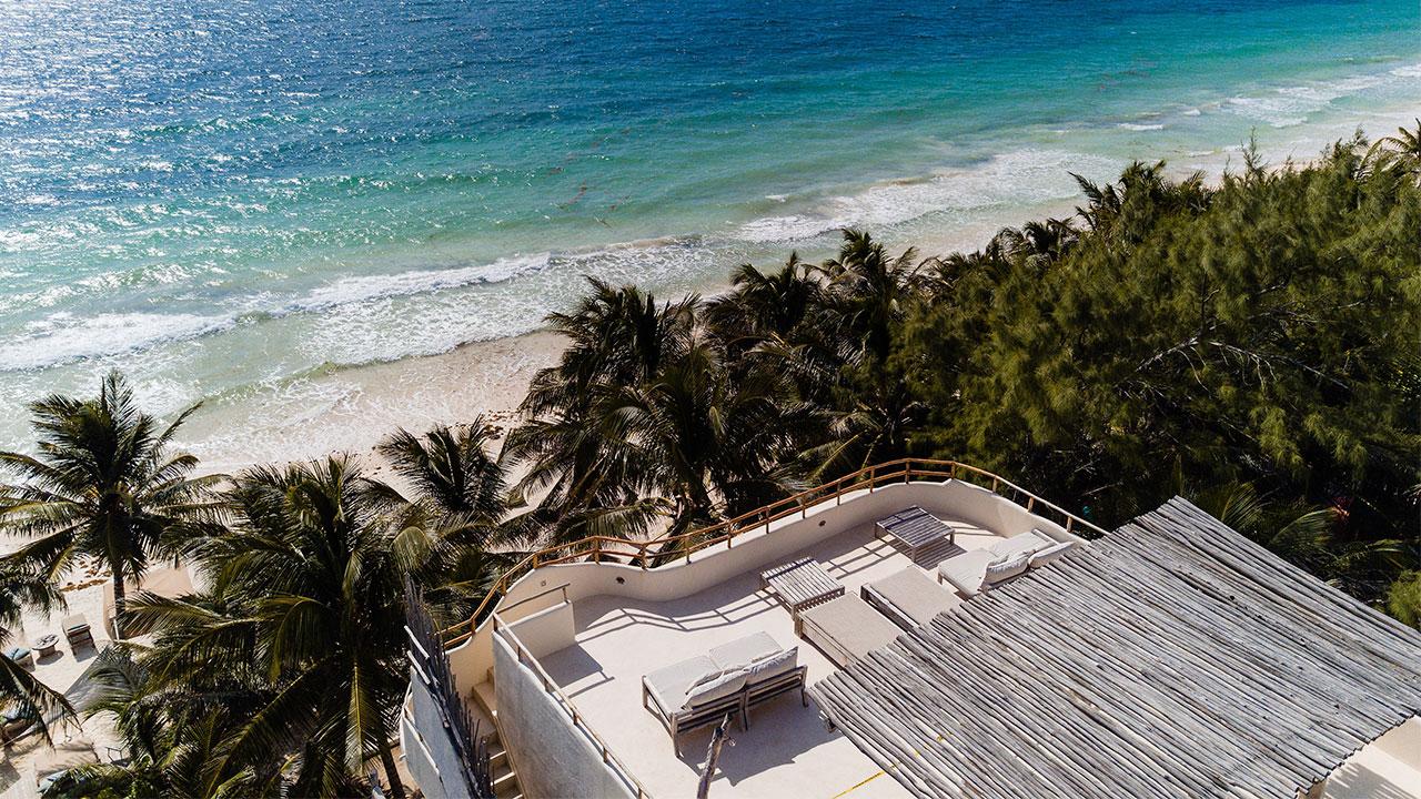 Mahayana y Zorba, una colección de casas privadas de diseño en la mágica playa de Tulum