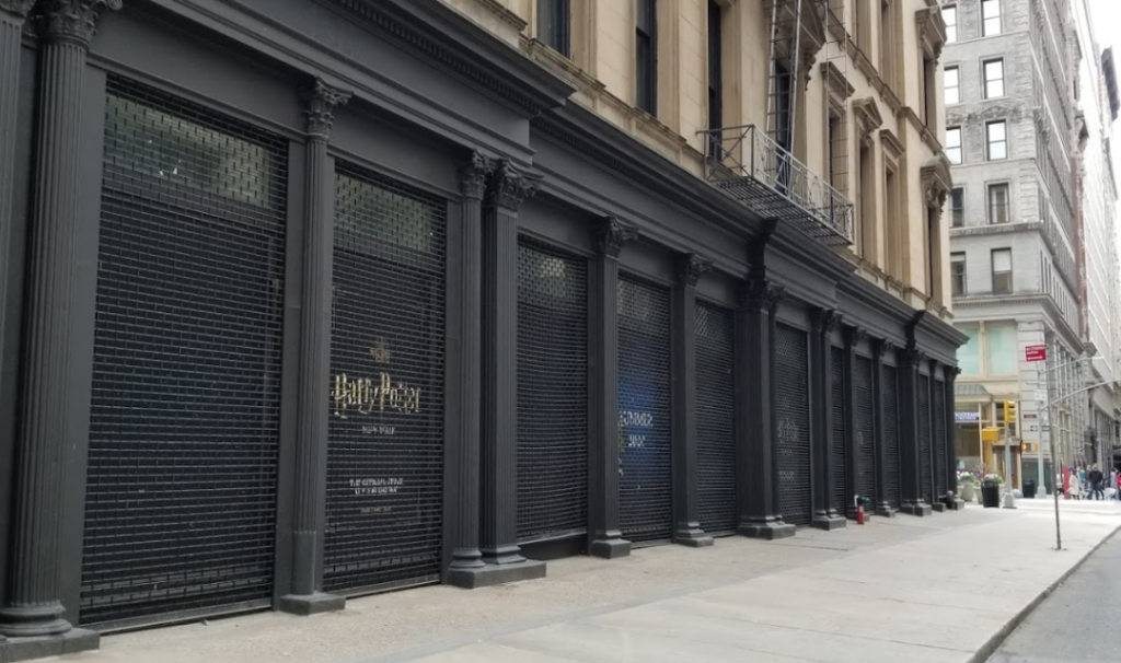 tienda Harry Potter NY